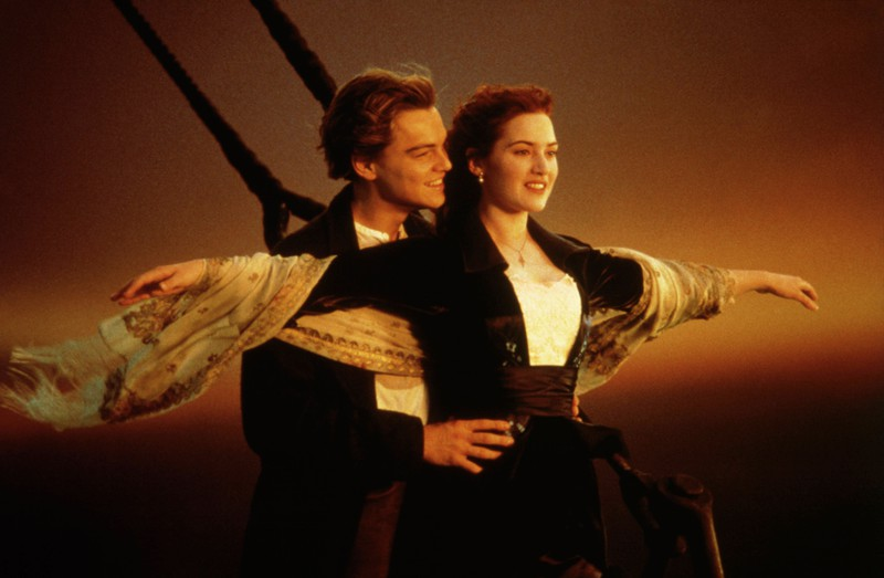 """Kate Winslet deperately wanted to be part of the movie """"Titanic""""."""