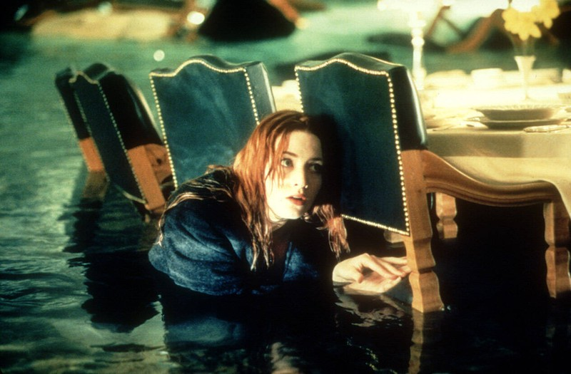 """Kate Winslet didn't want to wear a wetsuit during the filming of """"Titanic""""."""