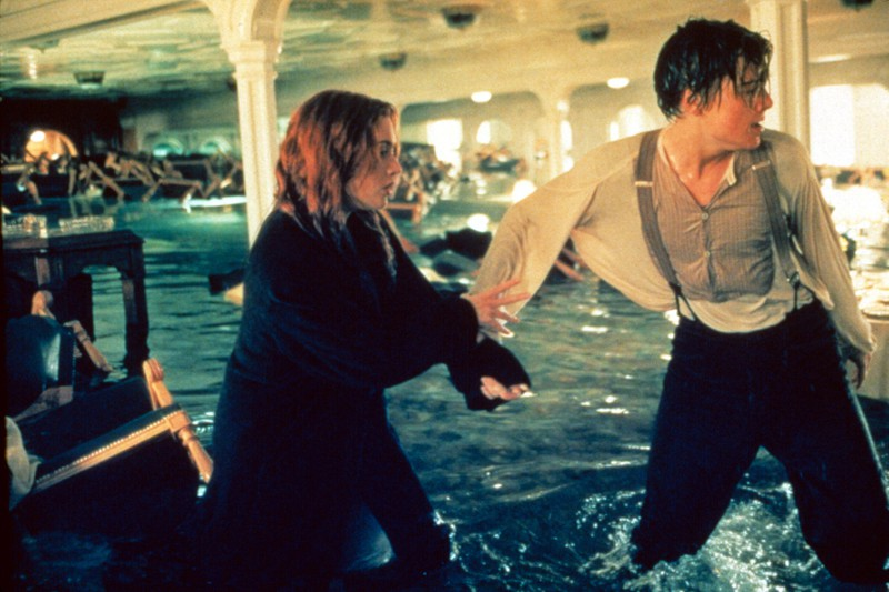"""Kate Winslet got hypothermia, because she didn't want to wear a wetsuit in """"Titanic""""."""