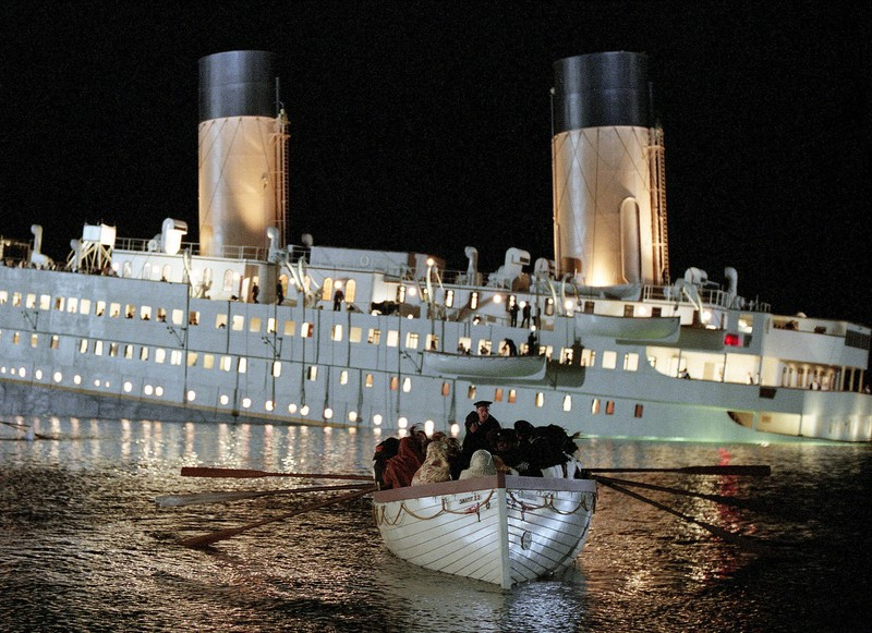 """The movie """"Titanic"""" included an homage to Ida and Isidor Straus."""