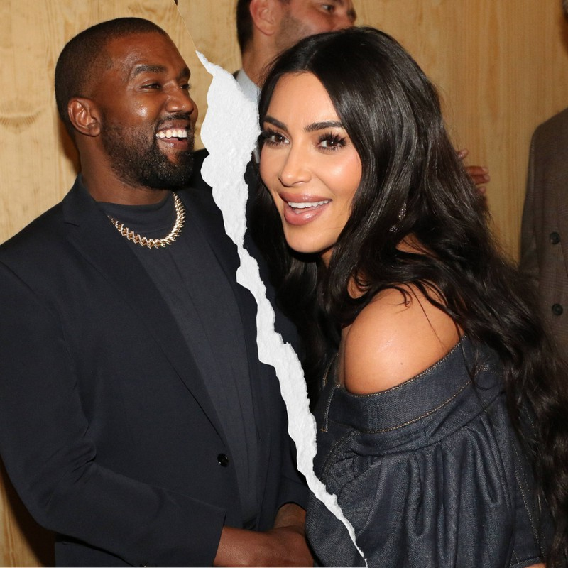 Kim Kardashian and Kanye West are right in the middle of their divorce.