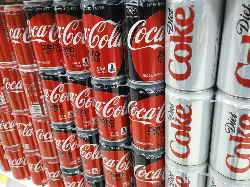 Coca-Cola Zero and Coca-Cola Light have different ingredients than the original Coca-Cola.