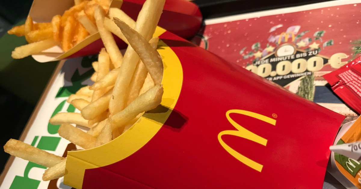 McDonald's: The French Fry Box Flap Has A Hidden Function