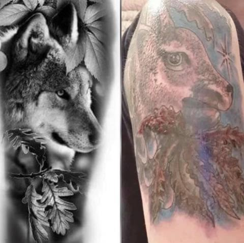 You must choose your tattoo artist carefully