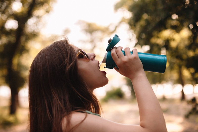 A good tip against intimate odour is to drink plenty of water.