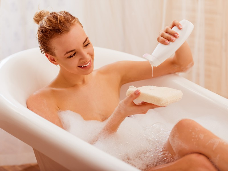 Shower gels can cause intimate odours in women