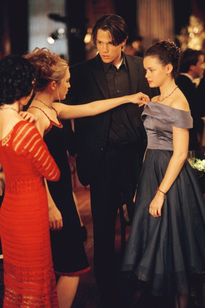 """""""Rory Gilmore"""" was Alexis Bledel's very first role."""