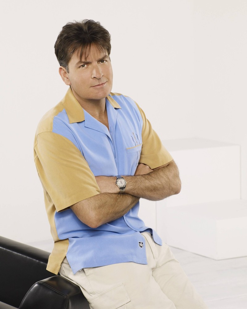 Charlie Sheen was the main character in the series Two and a Half Men.