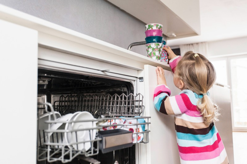The dishwasher is definitely one of our everyday heroes.