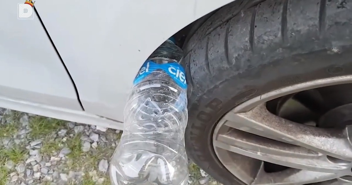 Sneaky Scam: Car Thieves Use Plastic Bottles