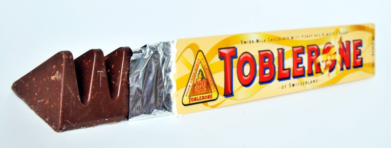There is also a very simple trick for Toblerone that makes it easier to open the package.