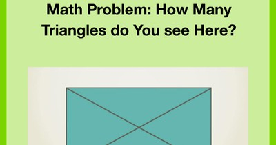 10 Math Riddles You Won't Solve On The First Try