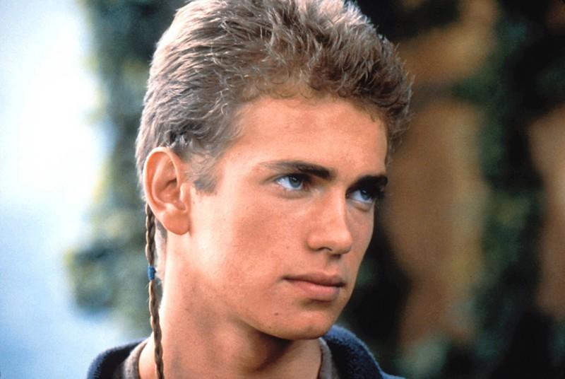 This photo shows the actor Hayden Christensen.