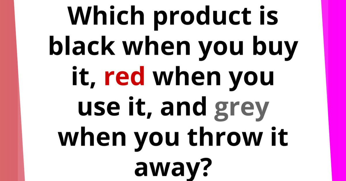 Tricky Quiz: Which Product Are We Looking For?