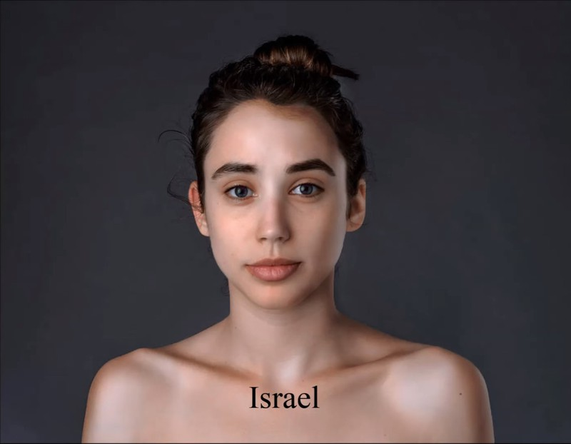For the Israeli beauty ideal, Esther would have to spend more time in the sun.