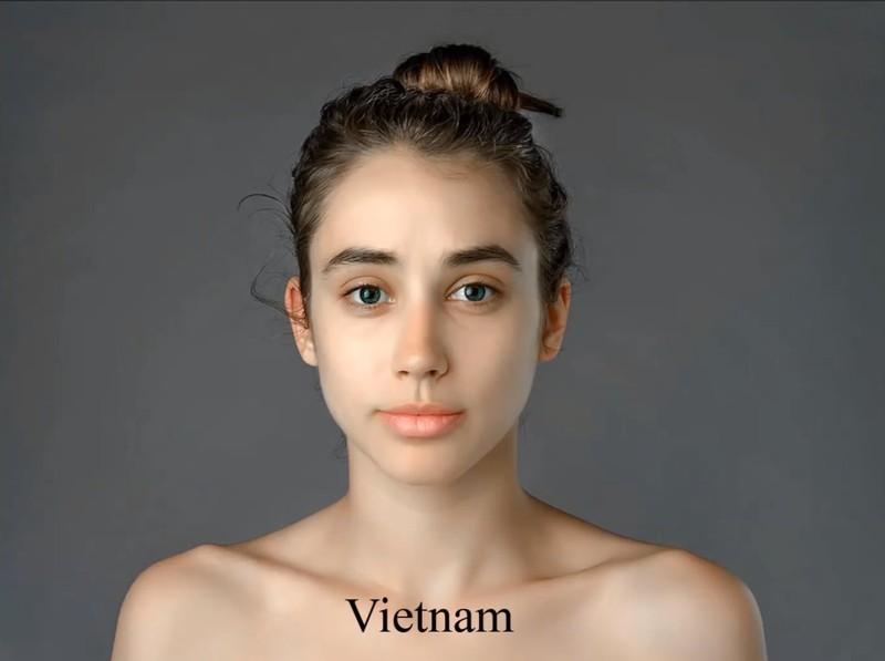 In Vietnam, Esther got a fair, even skin tone as a beauty ideal.