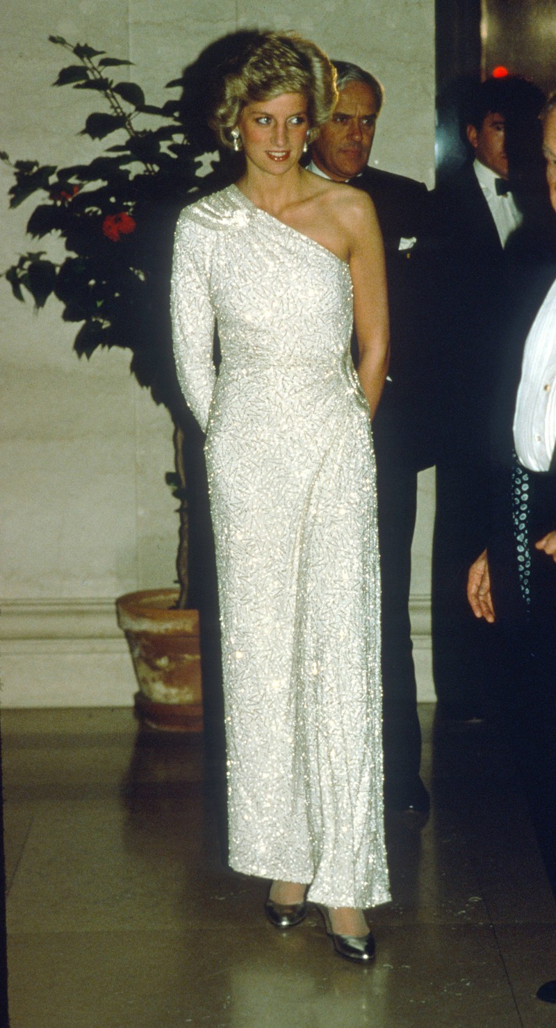 Lady Di wore the Hachi gown several times over a time span of six years.